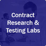 icon for contract research and testing labs