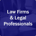 icon for law firms and legal professionals