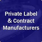 Icon for private label and contract manufacturers