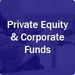 icon for private equity and corporate funds